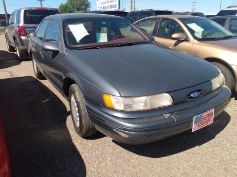 1993 Ford Taurus for sale at L & J Motors in Mandan ND