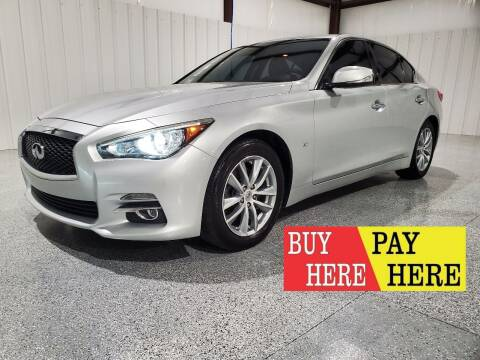 2015 Infiniti Q50 for sale at Hatcher's Auto Sales, LLC - Buy Here Pay Here in Campbellsville KY