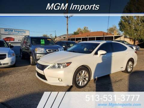 2013 Lexus ES 300h for sale at MGM Imports in Cincinnati OH