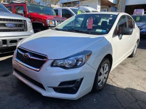 2015 Subaru Impreza for sale at Drive Deleon in Yonkers NY