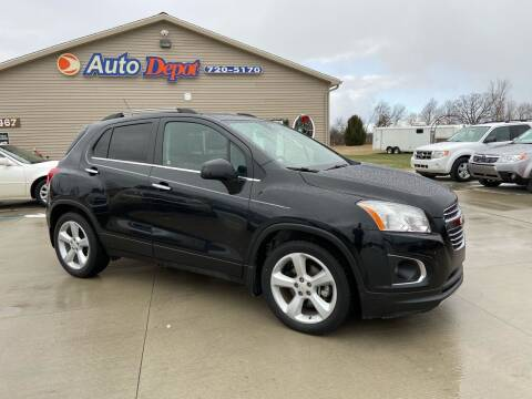 2015 Chevrolet Trax for sale at The Auto Depot in Mount Morris MI