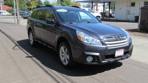 2013 Subaru Outback for sale at D & M Auto Sales in Corvallis OR