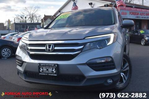 2018 Honda Pilot for sale at www.onlycarsnj.net in Irvington NJ
