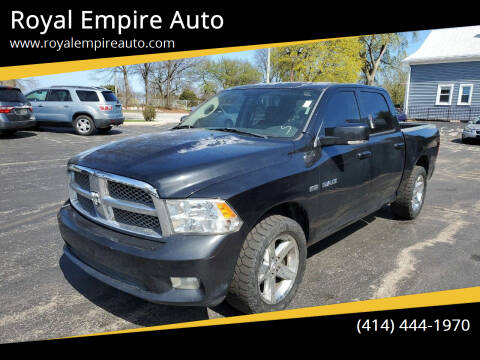 2009 Dodge Ram Pickup 1500 for sale at Royal Empire Auto in Milwaukee WI