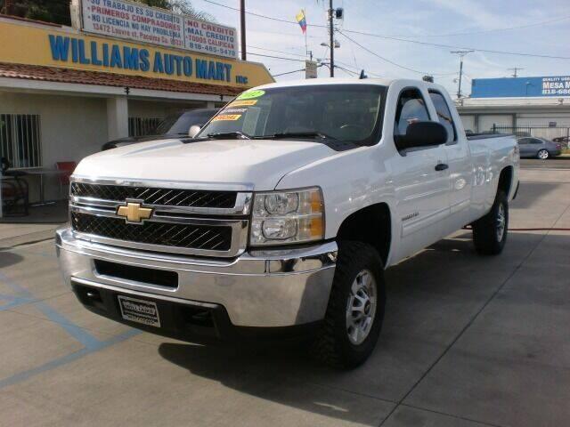 2012 Chevrolet Silverado 2500HD for sale at Williams Auto Mart Inc in Pacoima CA