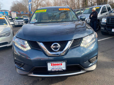 2016 Nissan Rogue for sale at Elmora Auto Sales in Elizabeth NJ