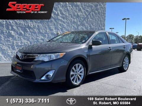 2012 Toyota Camry Hybrid for sale at SEEGER TOYOTA OF ST ROBERT in Saint Robert MO