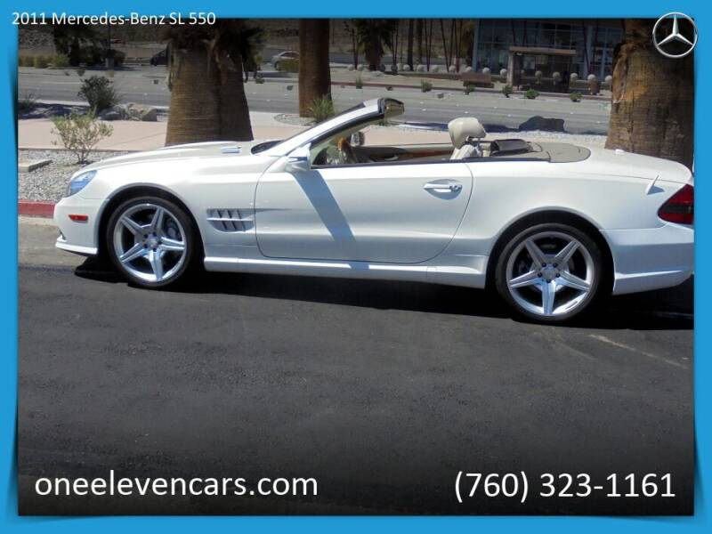 2011 Mercedes-Benz SL-Class for sale at One Eleven Vintage Cars in Palm Springs CA