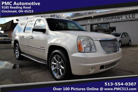 2012 GMC Yukon XL for sale at PMC Automotive in Cincinnati OH