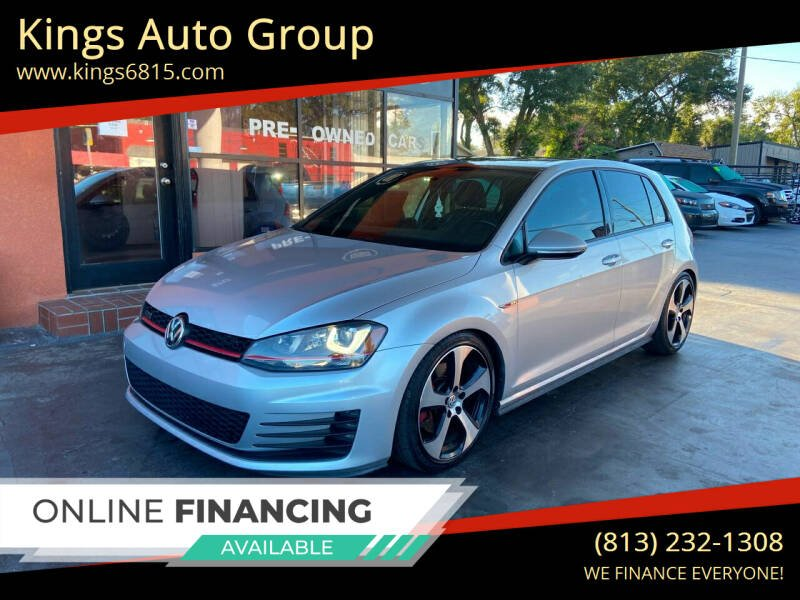 2016 Volkswagen Golf GTI for sale at Kings Auto Group in Tampa FL