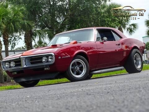 1967 Pontiac Firebird for sale at SURVIVOR CLASSIC CAR SERVICES in Palmetto FL