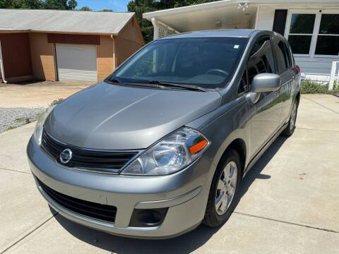 2012 Nissan Versa for sale at Efficiency Auto Buyers in Milton GA