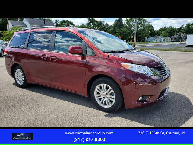 2013 Toyota Sienna for sale at Carmel Auto Group in Indianapolis IN