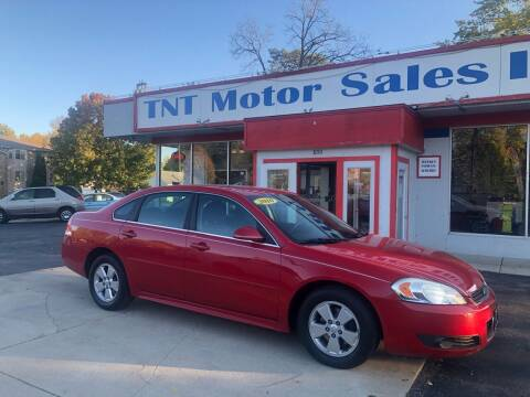 2010 Chevrolet Impala for sale at TNT Motor Sales in Oregon IL