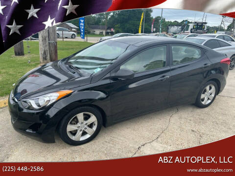 2013 Hyundai Elantra for sale at ABZ Autoplex, LLC in Baton Rouge LA