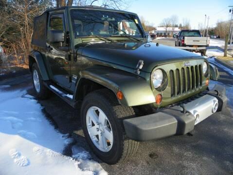 2009 Jeep Wrangler for sale at Ed Davis LTD in Poughquag NY