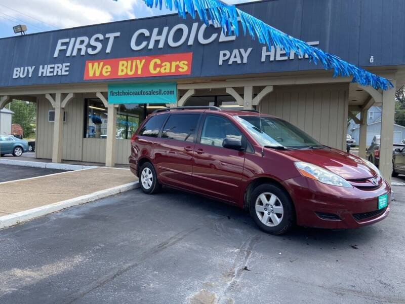 2008 Toyota Sienna for sale at First Choice Auto Sales in Rock Island IL