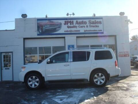 2010 Nissan Armada for sale at JPH Auto Sales in Eastlake OH