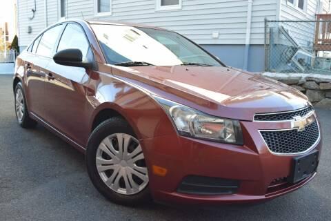 2012 Chevrolet Cruze for sale at VNC Inc in Paterson NJ