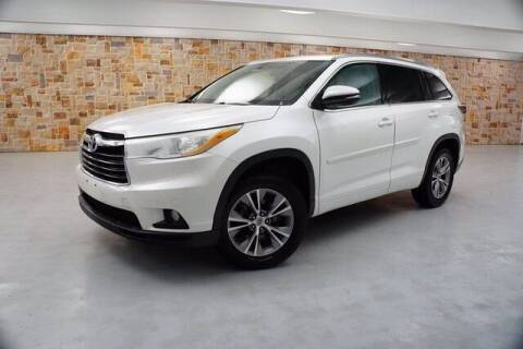 2014 Toyota Highlander for sale at Jerry's Buick GMC in Weatherford TX