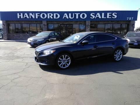 2016 Mazda MAZDA6 for sale at Hanford Auto Sales in Hanford CA
