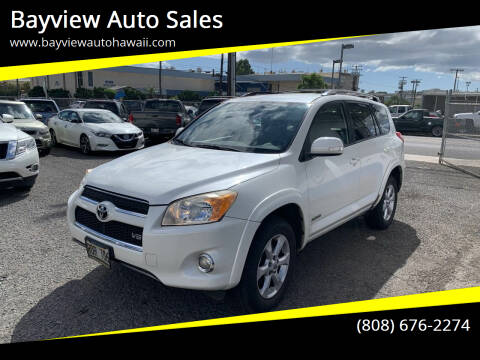 2010 Toyota RAV4 for sale at Bayview Auto Sales in Waipahu HI