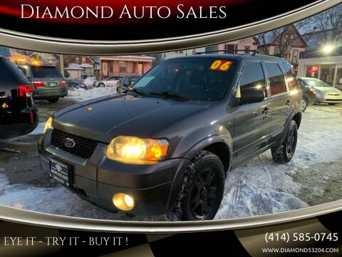 2006 Ford Escape for sale at Diamond Auto Sales in Milwaukee WI
