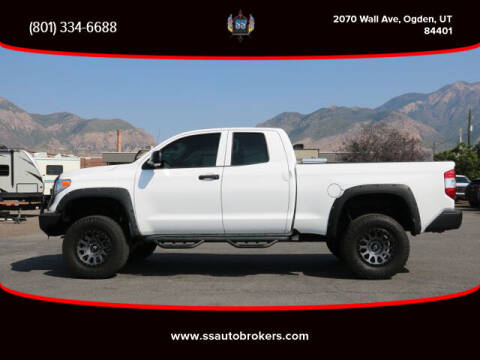 2017 Toyota Tundra for sale at S S Auto Brokers in Ogden UT
