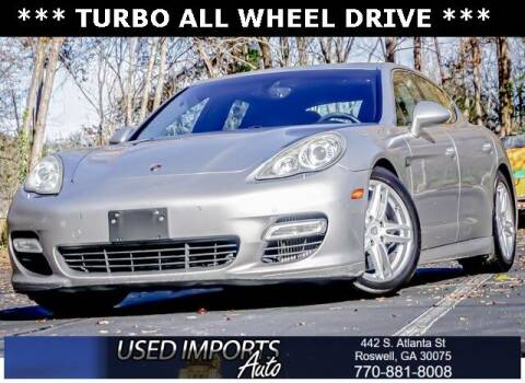 2010 Porsche Panamera for sale at Used Imports Auto in Roswell GA