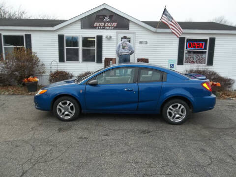 2004 Saturn Ion for sale at R & L AUTO SALES in Mattawan MI