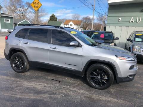 2014 Jeep Cherokee for sale at SHEFFIELD MOTORS INC in Kenosha WI