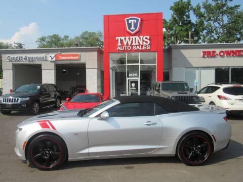 2017 Chevrolet Camaro for sale at Twins Auto Sales Inc in Detroit MI