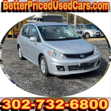 2010 Nissan Versa for sale at Better Priced Used Cars in Frankford DE