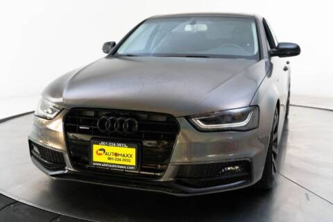 2016 Audi A4 for sale at AUTOMAXX MAIN in Orem UT