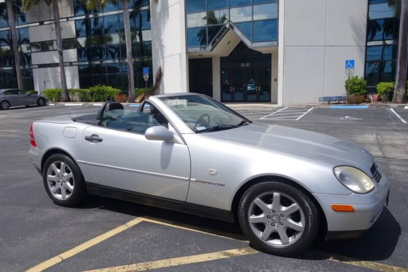1998 Mercedes-Benz SLK for sale at SR Motorsport in Pompano Beach FL