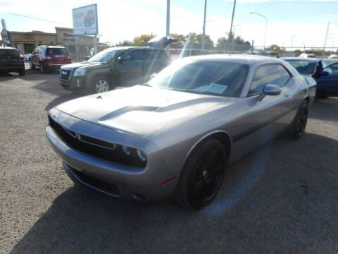 2016 Dodge Challenger for sale at AUGE'S SALES AND SERVICE in Belen NM