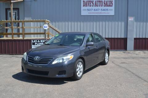 2011 Toyota Camry for sale at Dave's Auto Sales in Winthrop MN