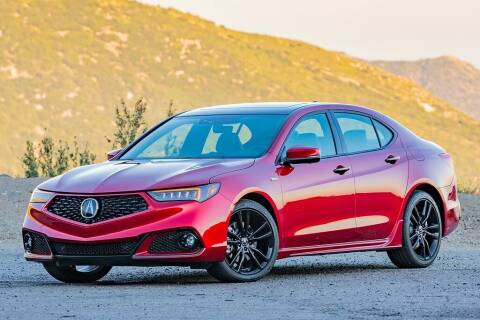 2020 Acura TLX for sale at EAG Auto Leasing in Marlboro NJ