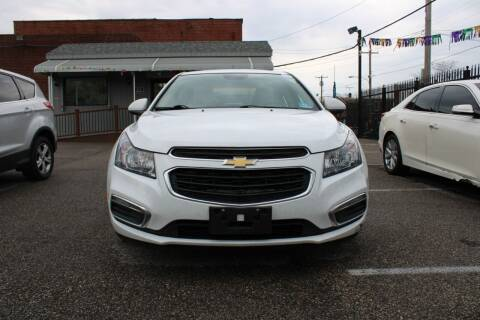 2015 Chevrolet Cruze for sale at EZ PASS AUTO SALES LLC in Philadelphia PA