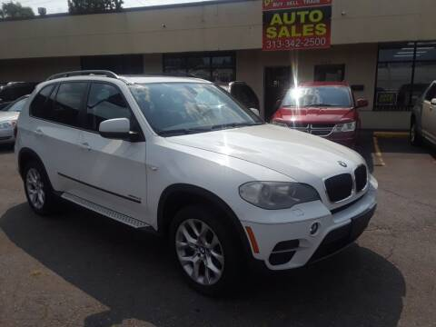 2012 BMW X5 for sale at GREAT DEAL AUTO SALES in Center Line MI