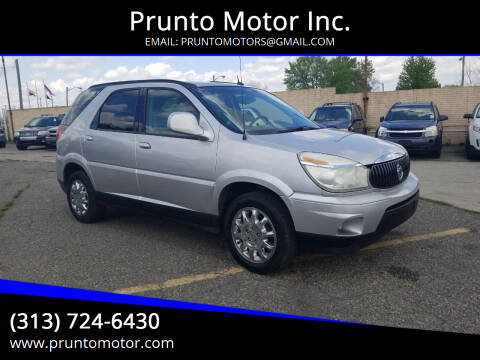 2007 Buick Rendezvous for sale at Prunto Motor Inc. in Dearborn MI