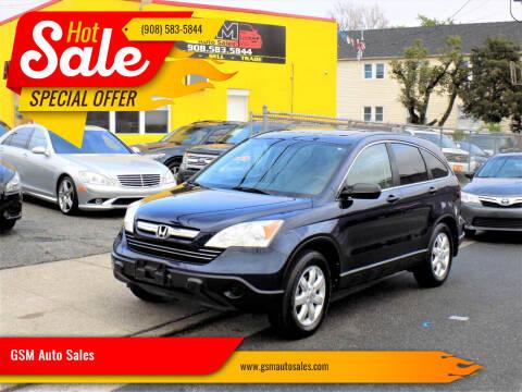 2009 Honda CR-V for sale at GSM Auto Sales in Linden NJ