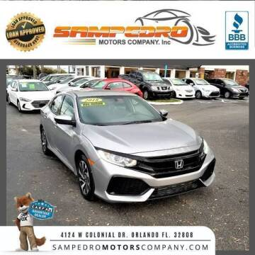 2018 Honda Civic for sale at SAMPEDRO MOTORS COMPANY INC in Orlando FL