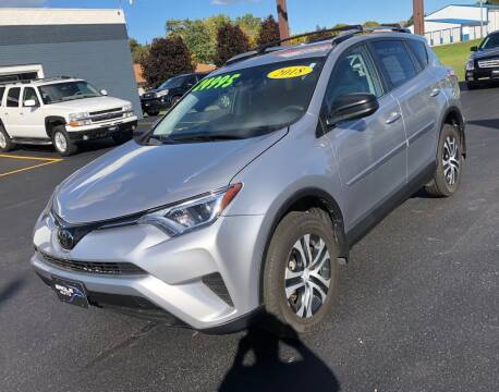 2018 Toyota RAV4 for sale at Eagle Auto LLC in Green Bay WI