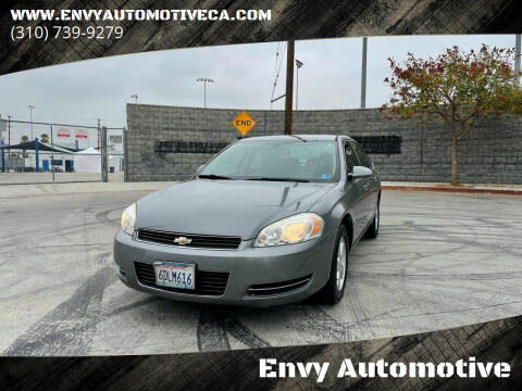 2008 Chevrolet Impala for sale at Envy Automotive in Studio City CA