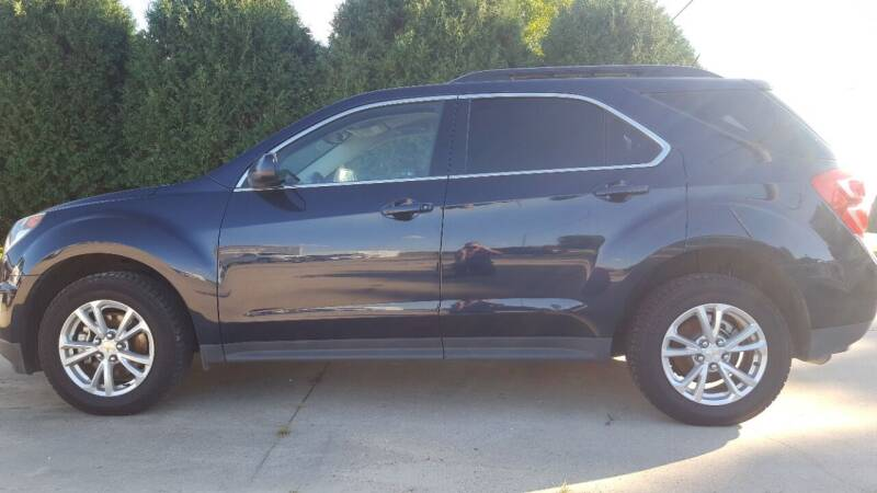 2016 Chevrolet Equinox for sale at The Auto Shoppe Inc. in New Vienna IA