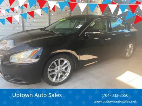 2009 Nissan Maxima for sale at Uptown Auto Sales in Charlotte NC