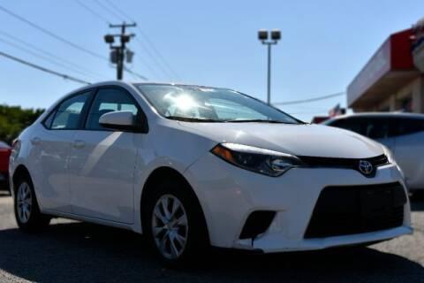 2016 Toyota Corolla for sale at International Auto Wholesalers in Virginia Beach VA