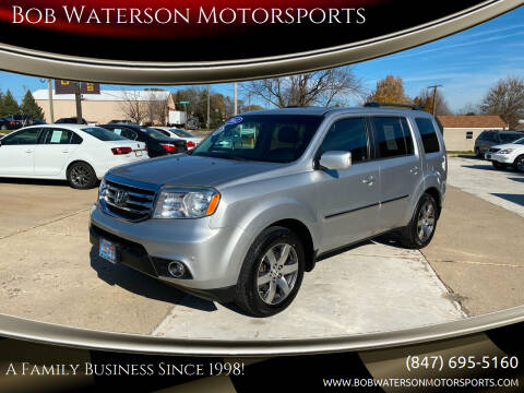 2012 Honda Pilot for sale at Bob Waterson Motorsports in South Elgin IL