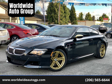 2008 BMW M6 for sale at Worldwide Auto Group in Auburn WA